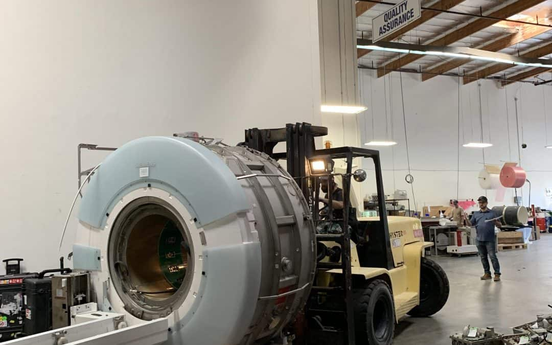 Siemens Espree has been harvested, parts inventoried and ready to be shipped