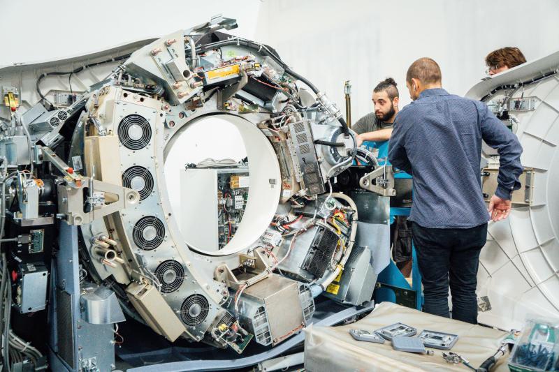 GE CT Parts - Testing LightSpeed VCT