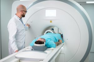 MRI Technologist - Scanning Patient with Knee Coil
