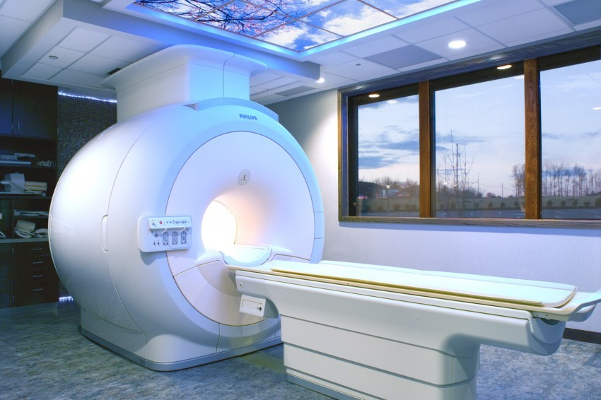 Modern 3T Philips MRI Machine