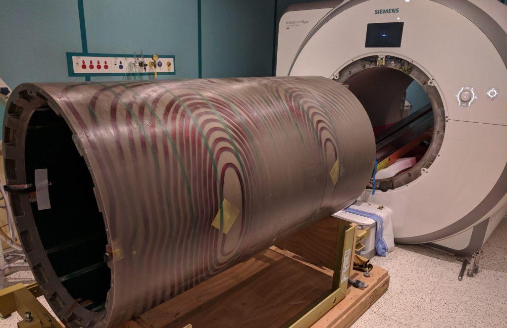 siemens mri gradient coil install